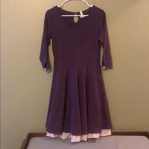 Purple MJ Women's Dress